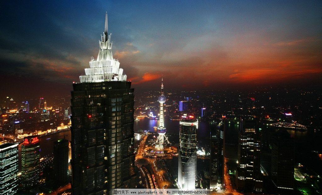 上海环球金融中心夜景