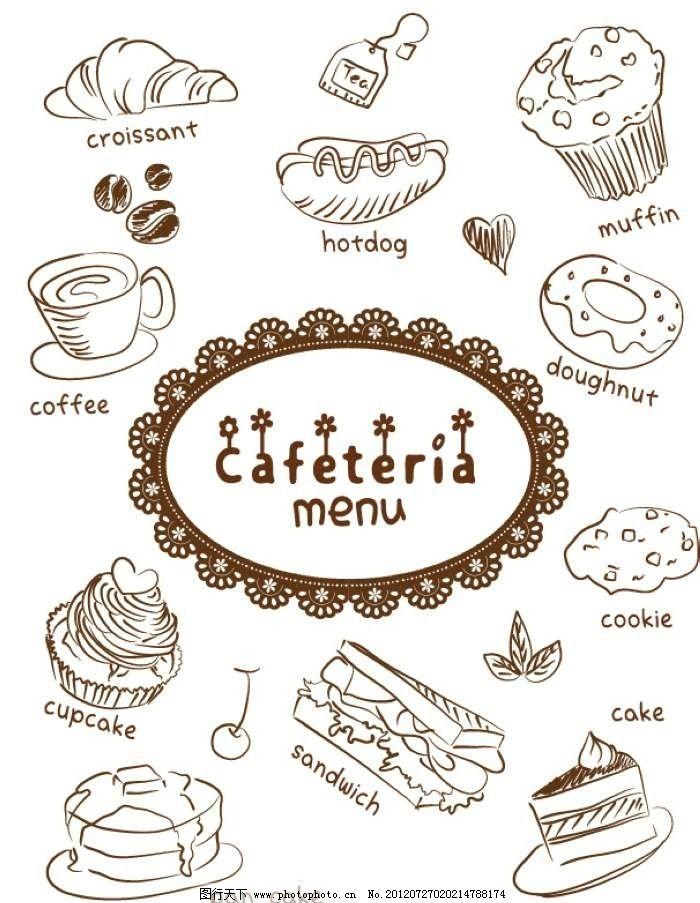 蛋糕美食背景图片_背景底纹_底纹边框_图行天下图库