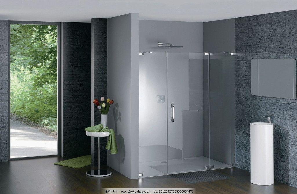 设计图库 设计元素 纹理边框  淋浴房 浴室摄影 浴室 豪华浴室 浴室龙