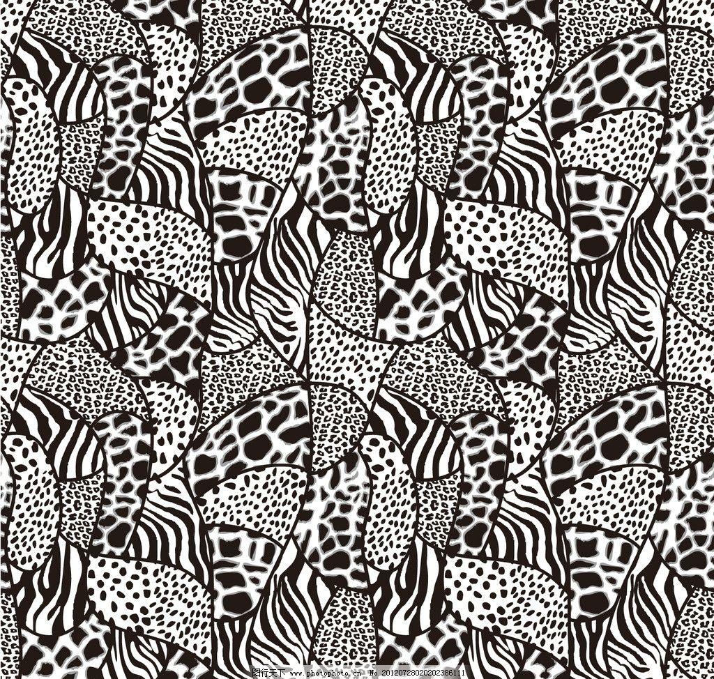抽象花纹 个性纹样 抽象 植物花纹 民族风 抽象图案 底纹背景 印花