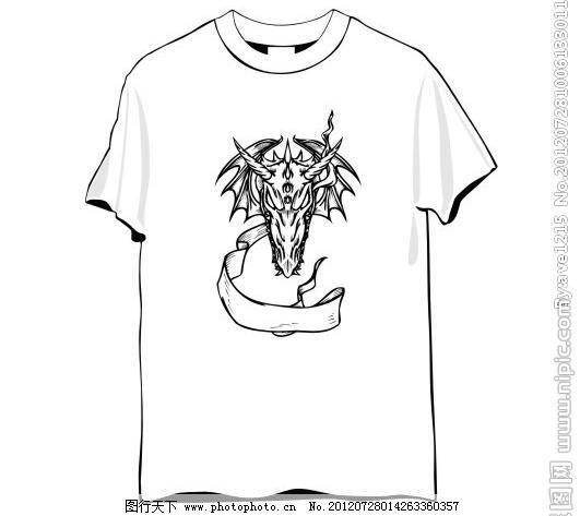 创意t恤设计图片