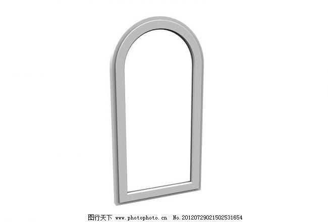 欧式窗户 欧式窗户图片免费下载 室内模型 源文件 欧式窗框 白色窗框