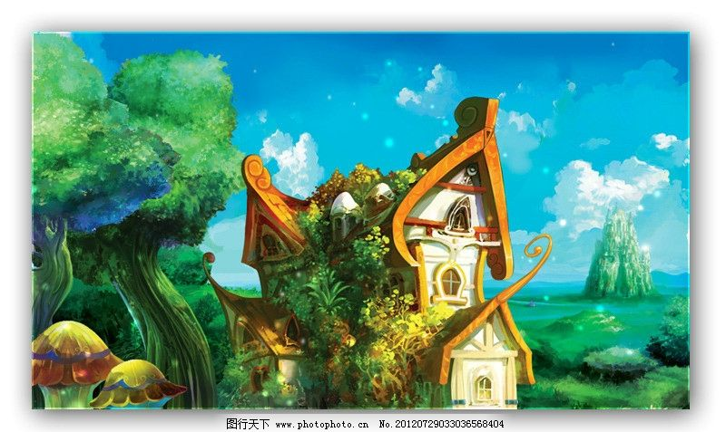 梦幻童话城堡(非高清)图片