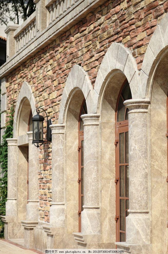 西班牙风情 西班牙建筑 欧式风格 欧式建筑风格 别墅 洋房 西班牙风格