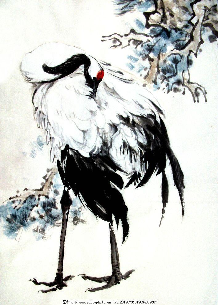 竹石图 美术 中国画 水墨画 竹子 石头 诗句 国画艺术 绘画书法 文化图片