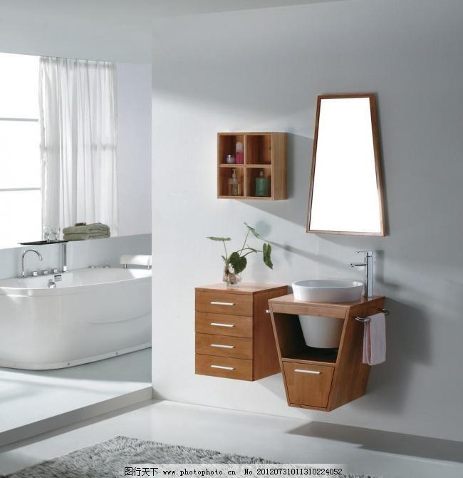 浴室一角图片_室内设计