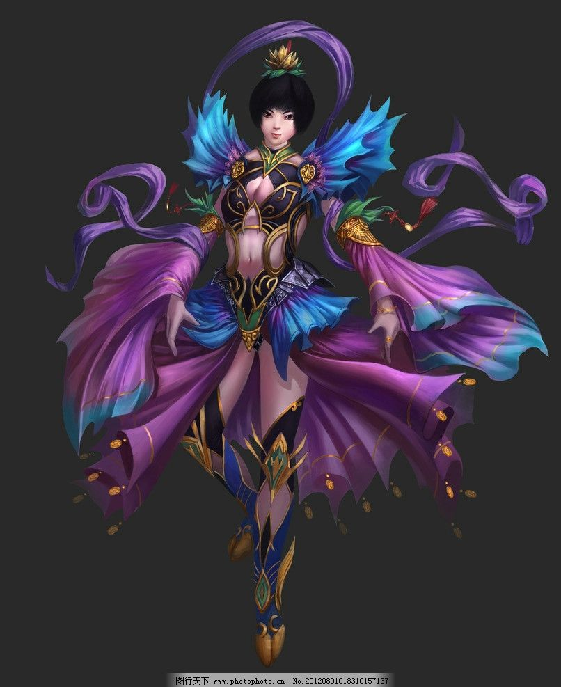 人物造型 游戏人物 游戏角色 游戏美女 游戏造型 人物设计 动漫人物
