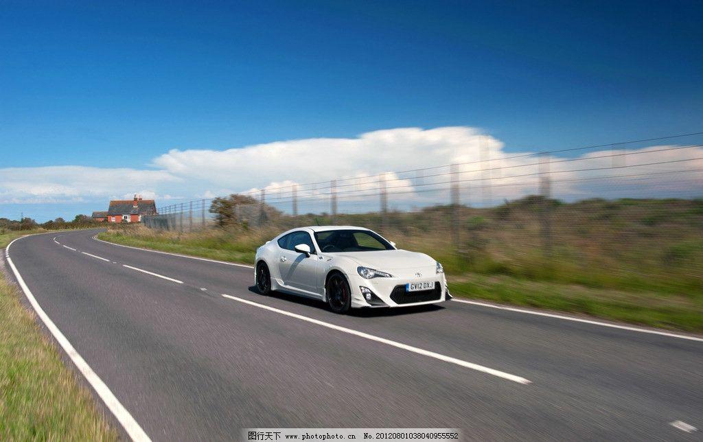超高清丰田gt86汽车海报壁纸图片