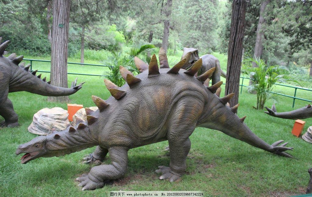 恐龙 动物 史前动物 爬行动物 天空 树木 国内旅游 旅游摄影