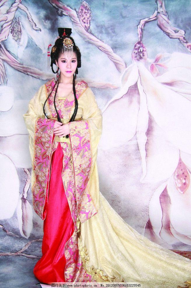 美女 美女模特 古装美女 模特 性感 前卫 美眉 妩媚 俊俏 人物图库 女
