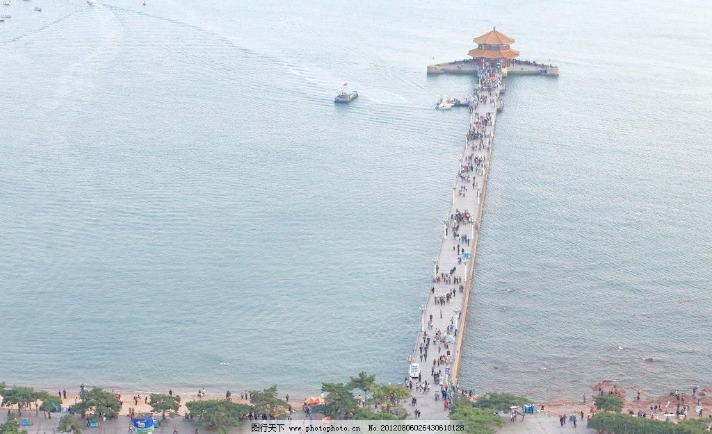 自然风景 青岛栈桥
