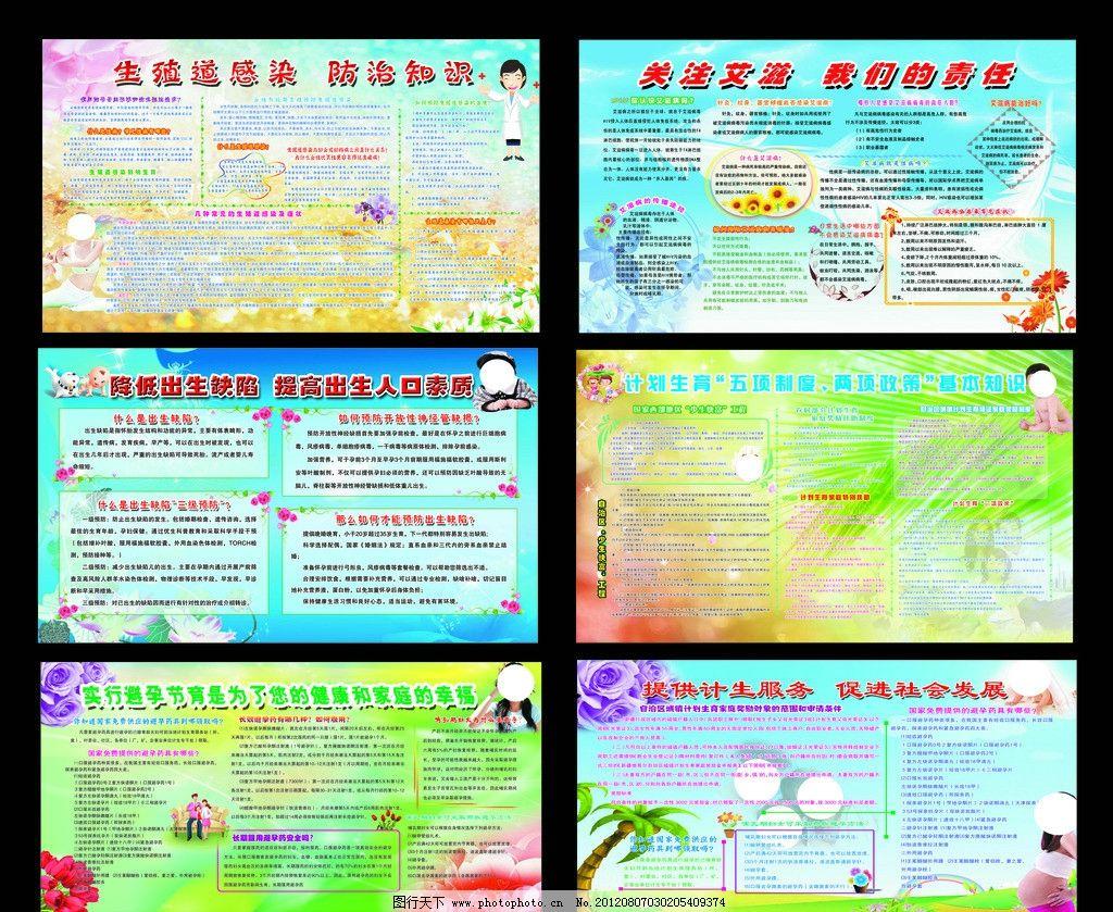 计划生育宣传展板图片