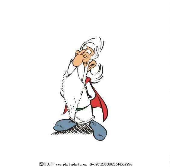 卡通人物老人图片图片