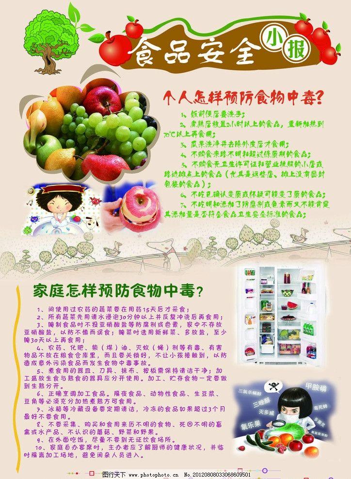 食品安全小报图片