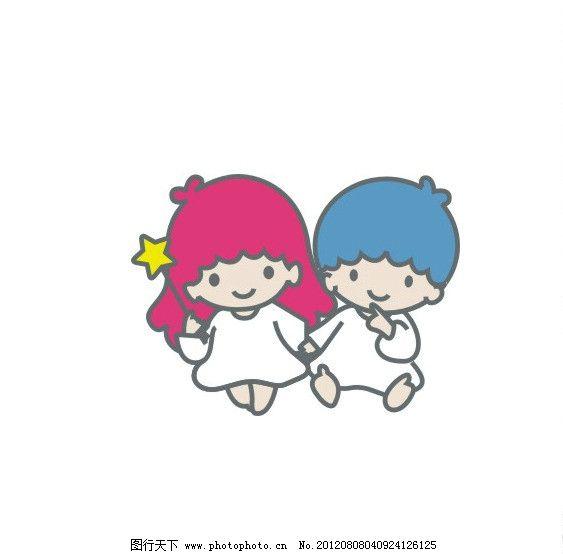cdr 人物 卡通人物 卡通 小男孩 小孩子 ai 小女孩 女 男 可爱 儿童