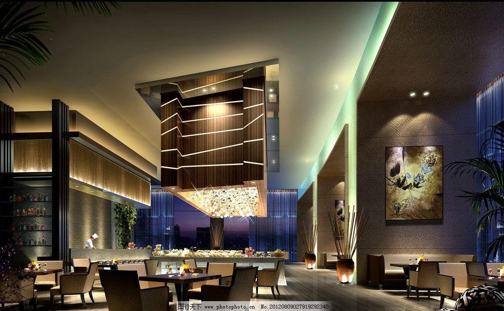 酒店效果圖 酒店        燈光 設計 室內 日本餐廳 商務 室內設計