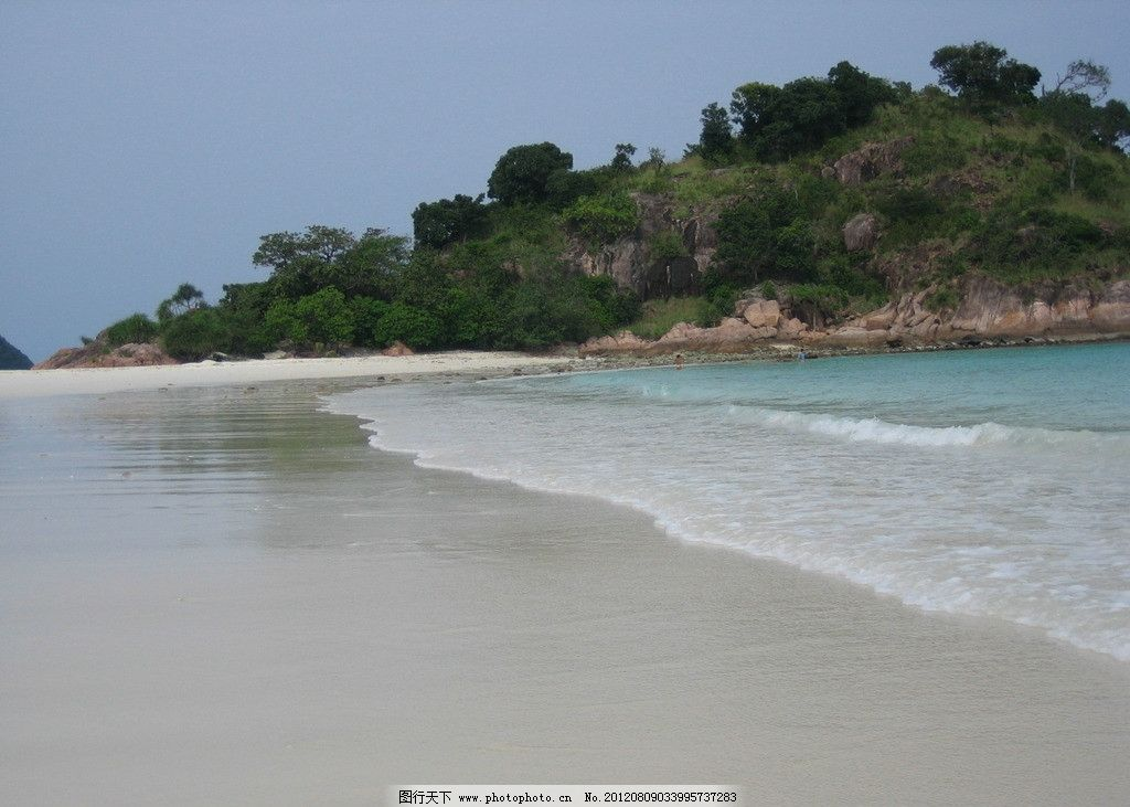 热浪岛风光图片