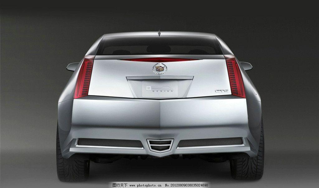 轿车 车尾 车型 车款      内置 凯迪拉克 跑车 透视 线条 交通工具