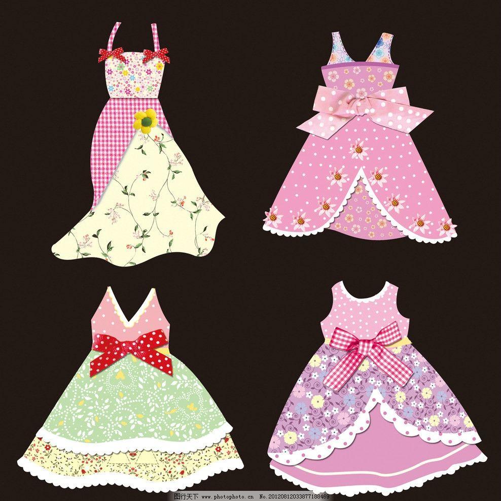 连衣裙 衣服 裙子 女裙 套裙 古装 女装 服装 吊带 围裙 纸贴
