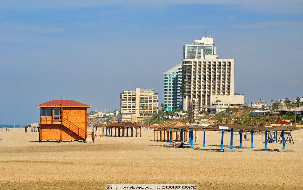 海边风光 海边 大海 海洋 风景 风光 美景 沙滩 海滩 楼房 房屋 建筑
