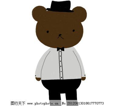 韩国可爱熊仔 小棕熊图片