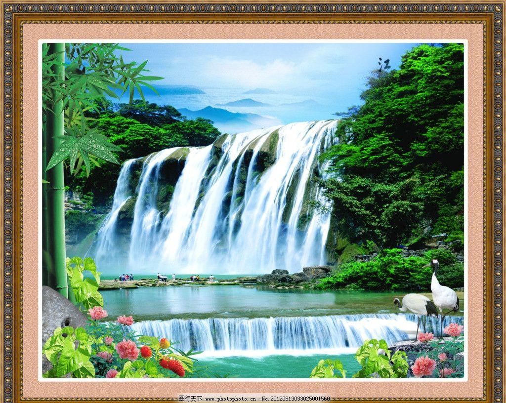 尼亚加拉瀑布景观照明