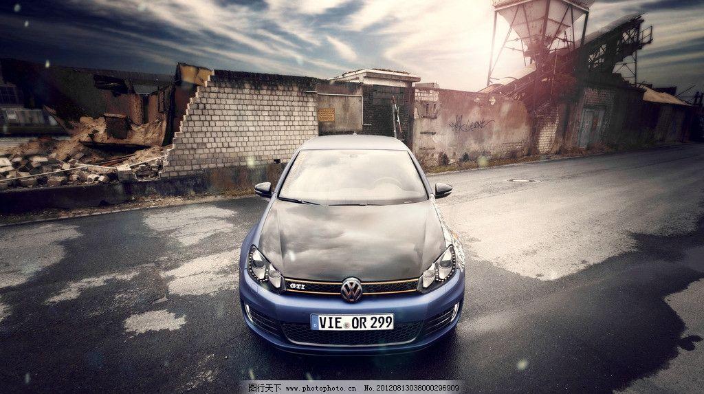 高清汽车海报广告壁纸 大众 上海大众 一汽大众 高尔夫 汽车壁纸