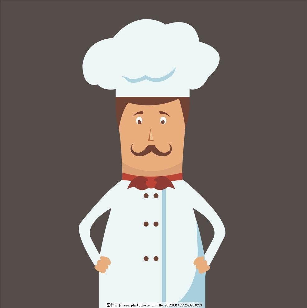卡通厨师图片