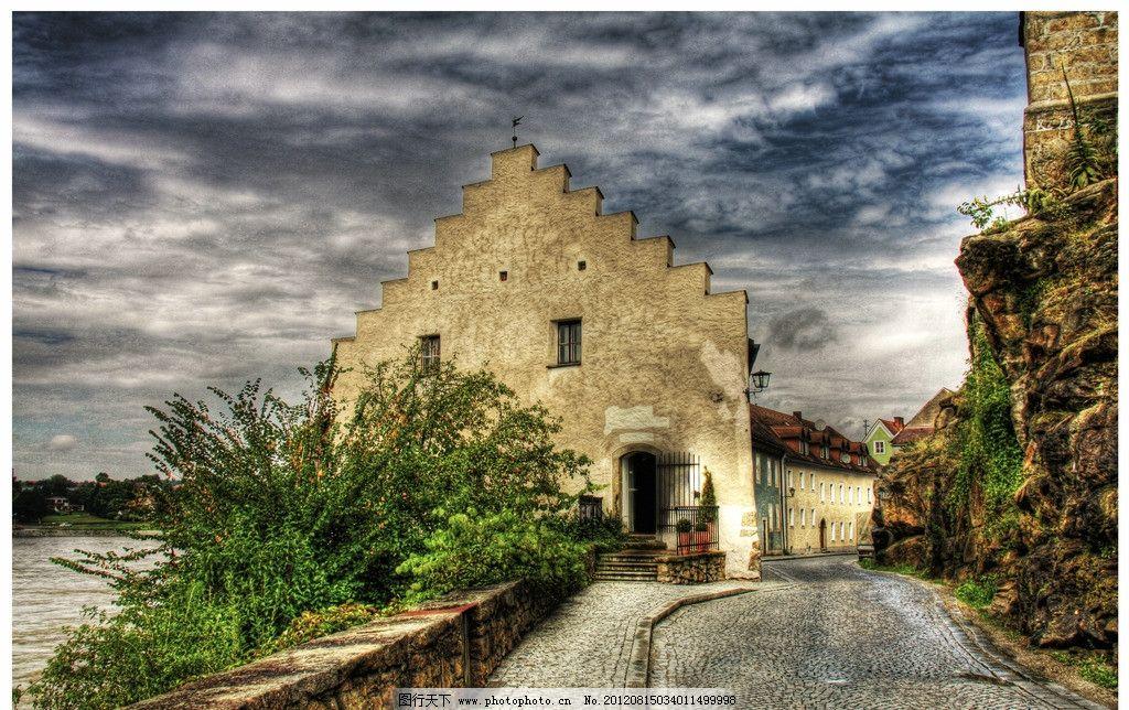 建筑 欧洲/欧洲小镇建筑图片