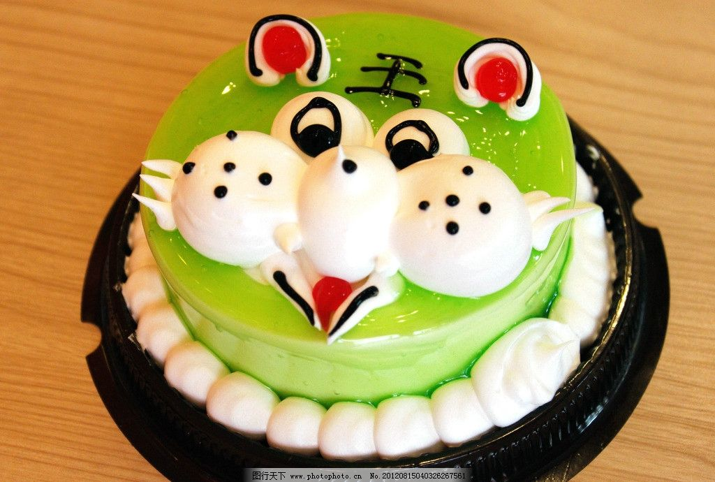 老虎蛋糕图片