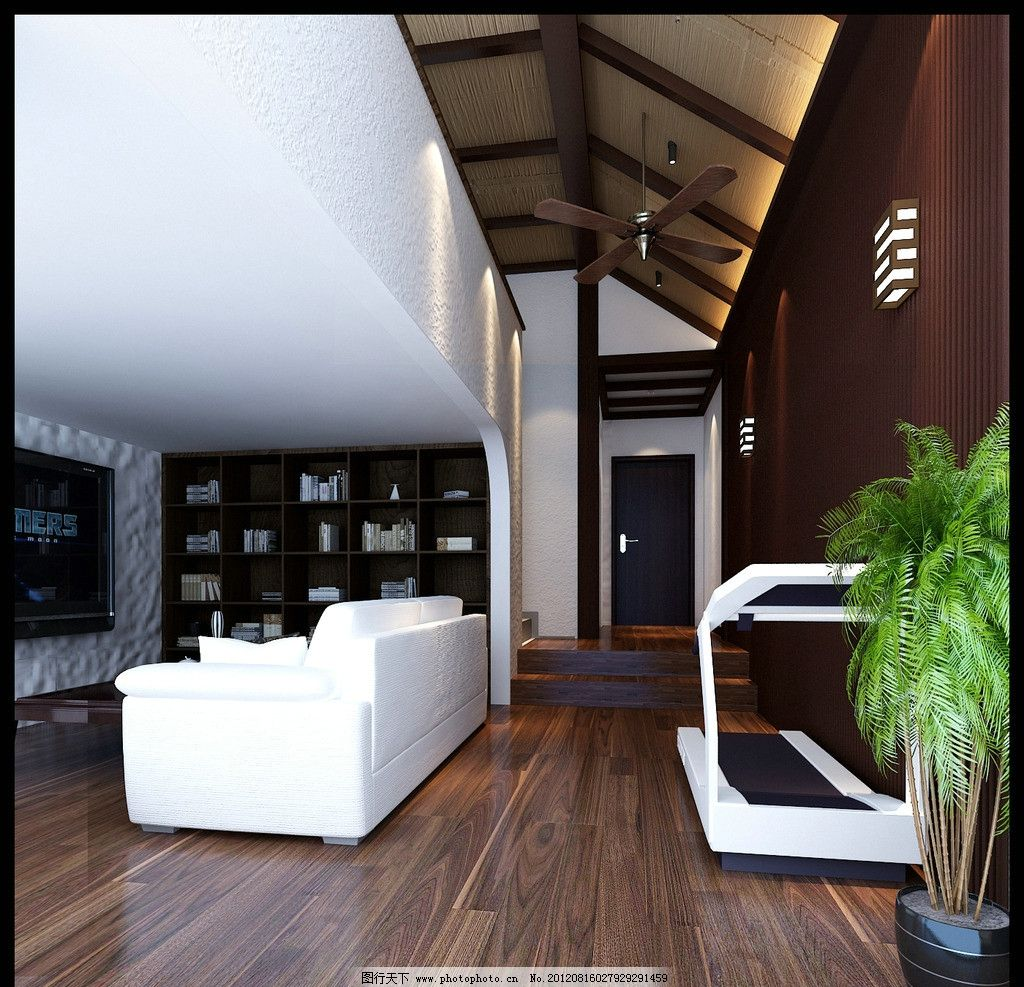 阁楼 装修效果图 装修 家装 房屋 室内 房屋装修 装饰 室内设计 环境