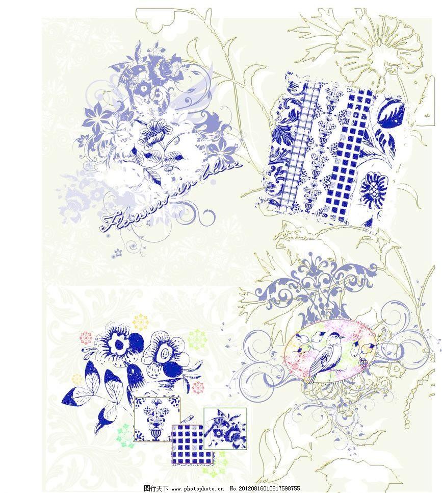 欧式花纹 线条图片