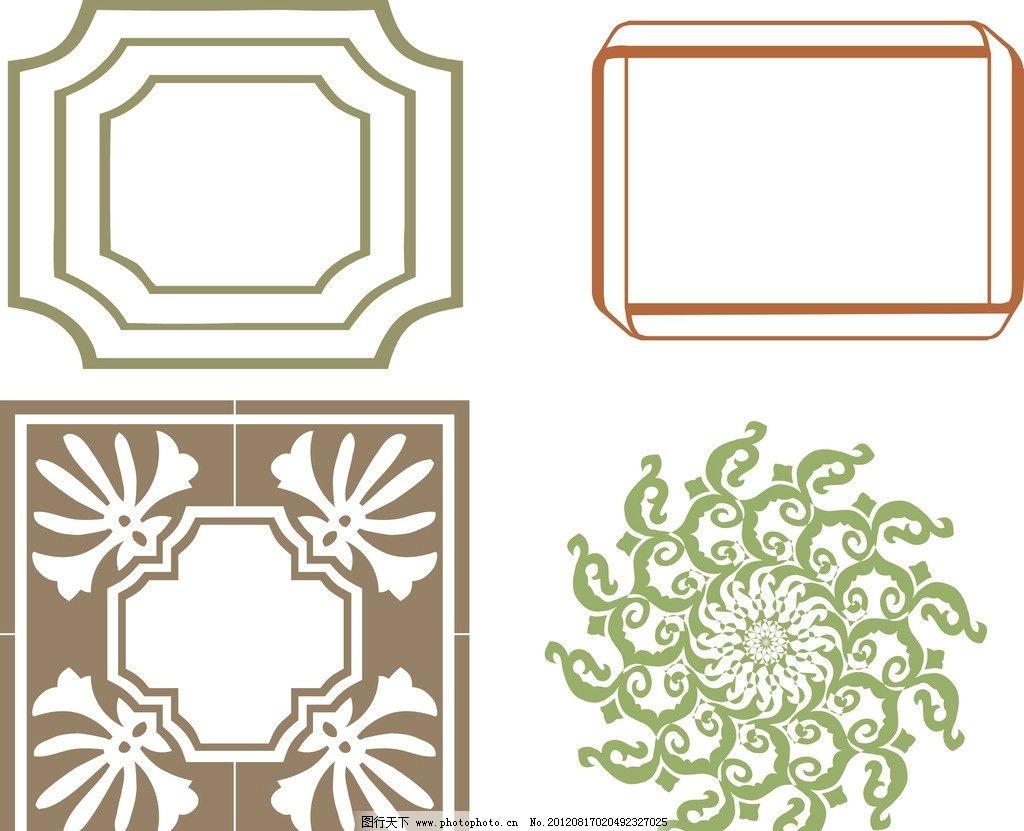 相框 画框 花纹 底纹 花边 边框 素材 高档花边 古典花边 欧式花边 花