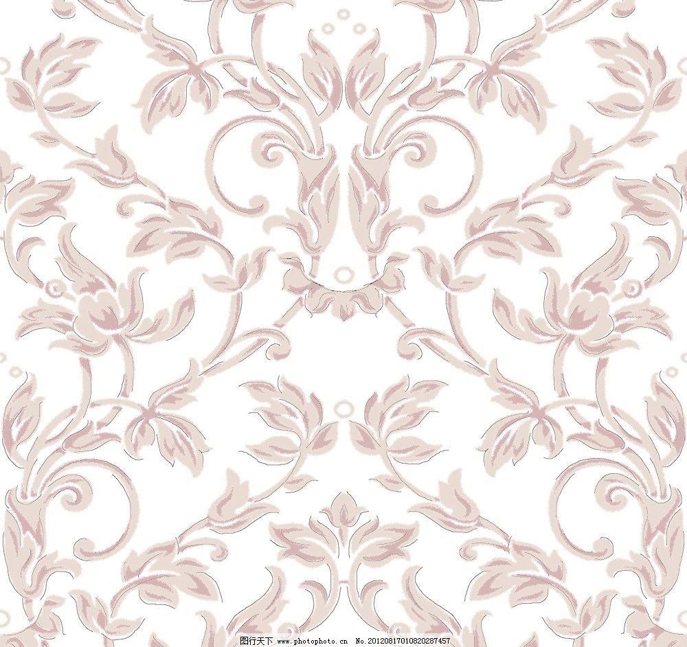 喷溅风格欧式花纹 肌理 其他 墙纸 印花 源文件 喷溅风格欧式花纹素材