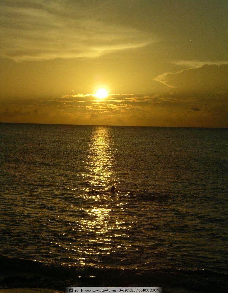 大海风光 大海 海洋 海水 风景 风光 美景 极光 朝霞 晚霞 绝美 桌面