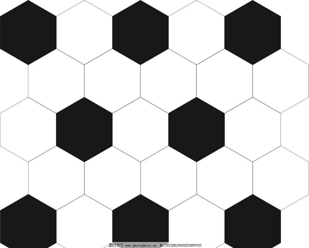视觉 黑白 六边形 足球 背景 设计 包装设计 广告设计 120dpi jpg