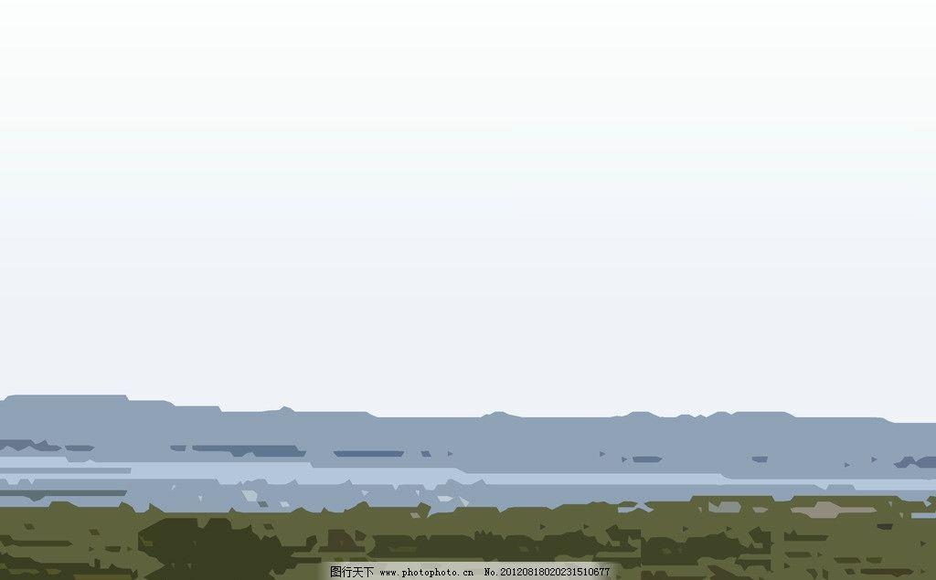 封面背景 白底蓝棕色 背景底纹 底纹边框 设计 72dpi jpg