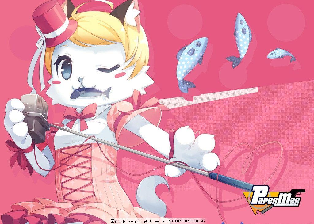 纸片人 动漫 日本 可爱 少女 漫画 动漫人物 动漫动画 设计 300dpi