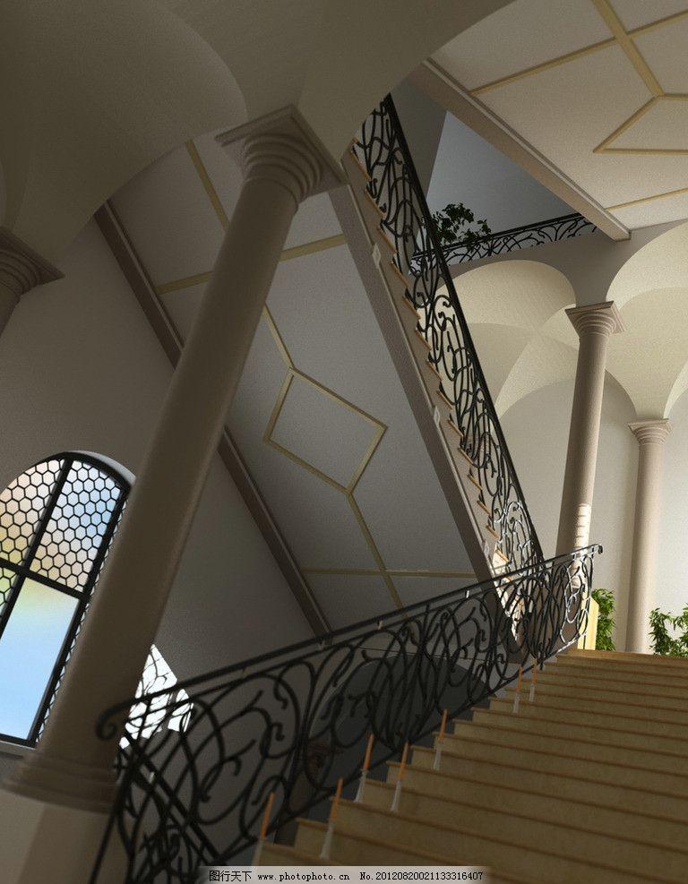 高品质完整室内场景模型图片