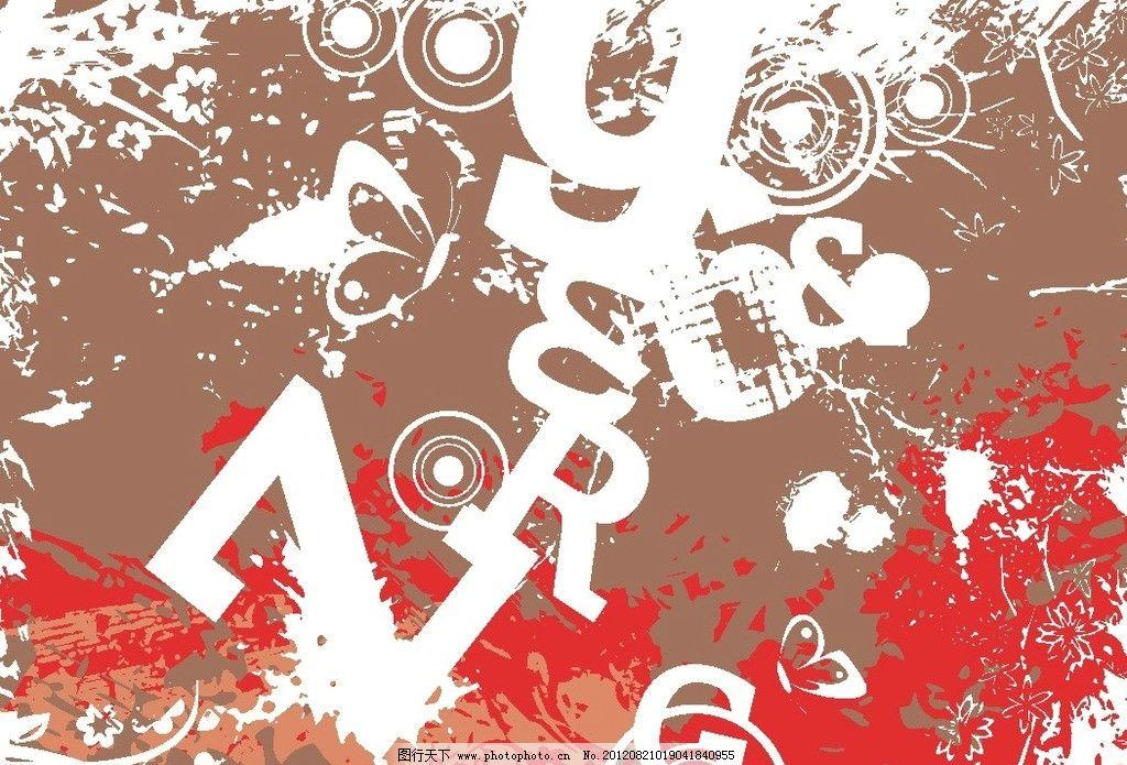 涂鸦绘画背景 个性背景 艺术 美术绘画 文化艺术 矢量 cdr