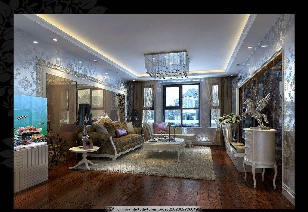 客厅 装修效果图 家装 房屋 室内 房屋装修 装饰 沙发 电视