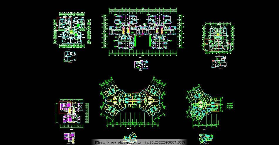 住宅平面户型图图片