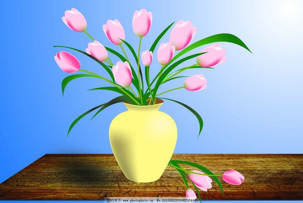 花瓶 矢量专题