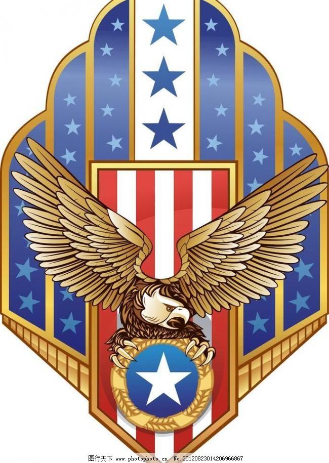 鹰主题 标识标志图标 动物 服装 服装素材 韩国 矢量图 小图标