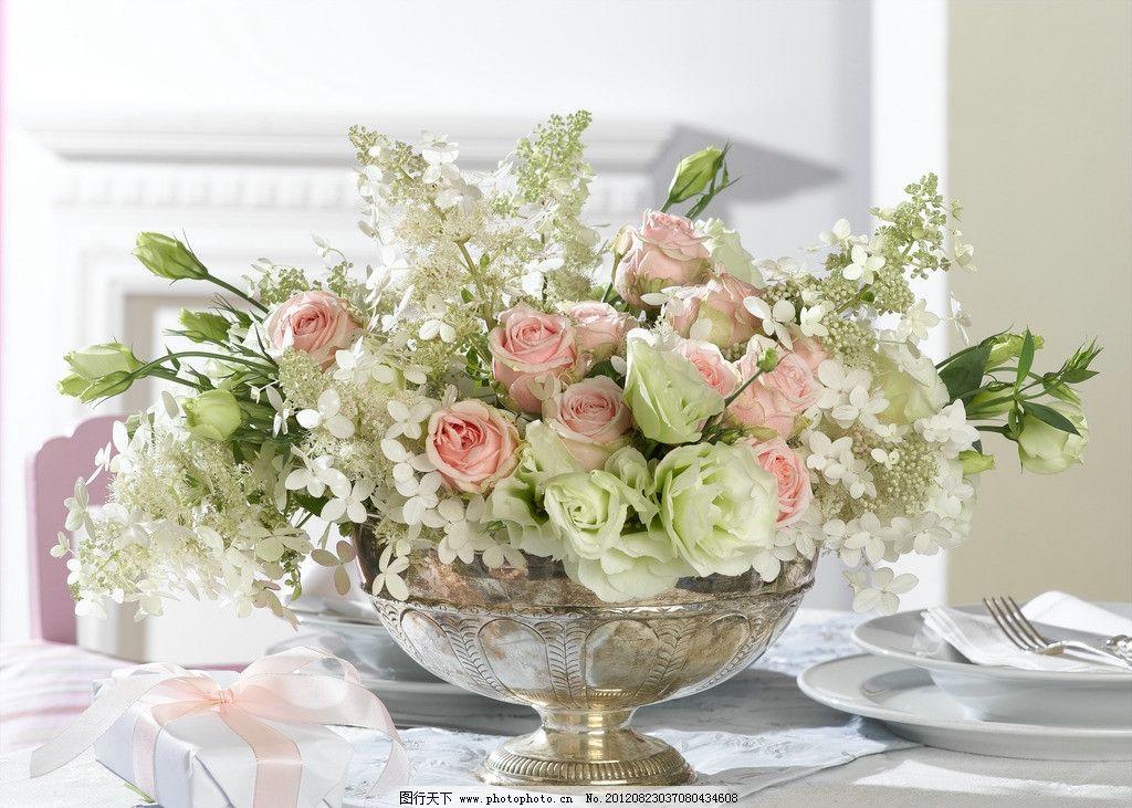 玫瑰花 花饰花艺图片图片