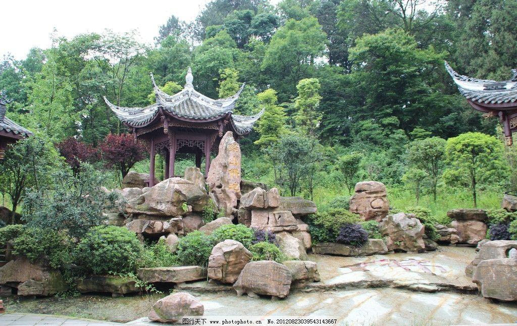 古寺风景摄影图片