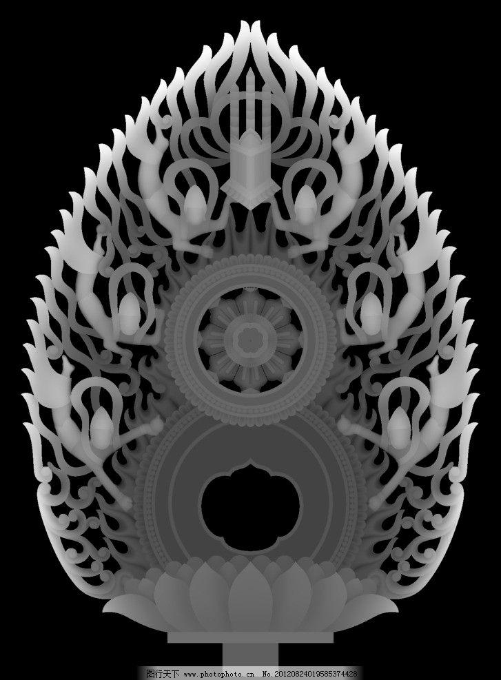 灰度图 龙 家具雕花 浮雕灰度图 浮雕 雕刻 图片素材 浮雕用灰度图