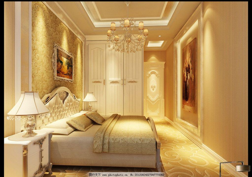 室内设计 主卧 次卧 简欧卧室 简欧主卧 简欧客厅 时尚卧室 欧式卧室