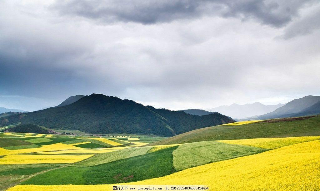 新疆梯田 新疆 梯田 农田 远山 山峦 田园风光 自然景观 摄影 72dpi