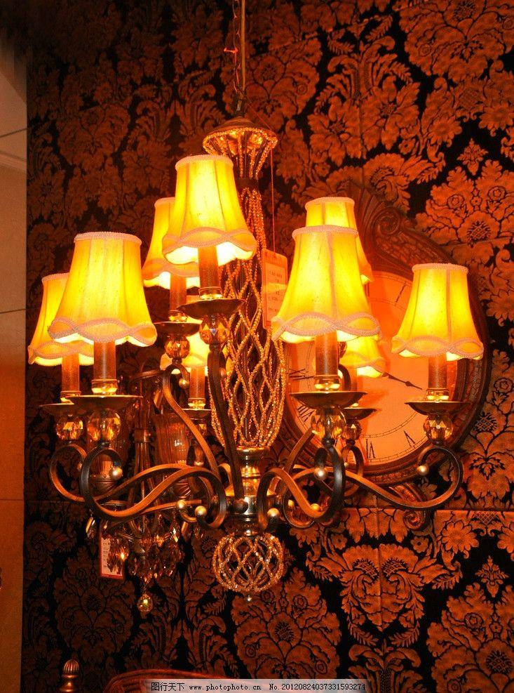 欧式灯 灯具 吊灯 水晶灯